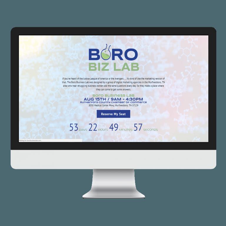 Website Design Portfolio Creative Boro In Murfreesboro Tn