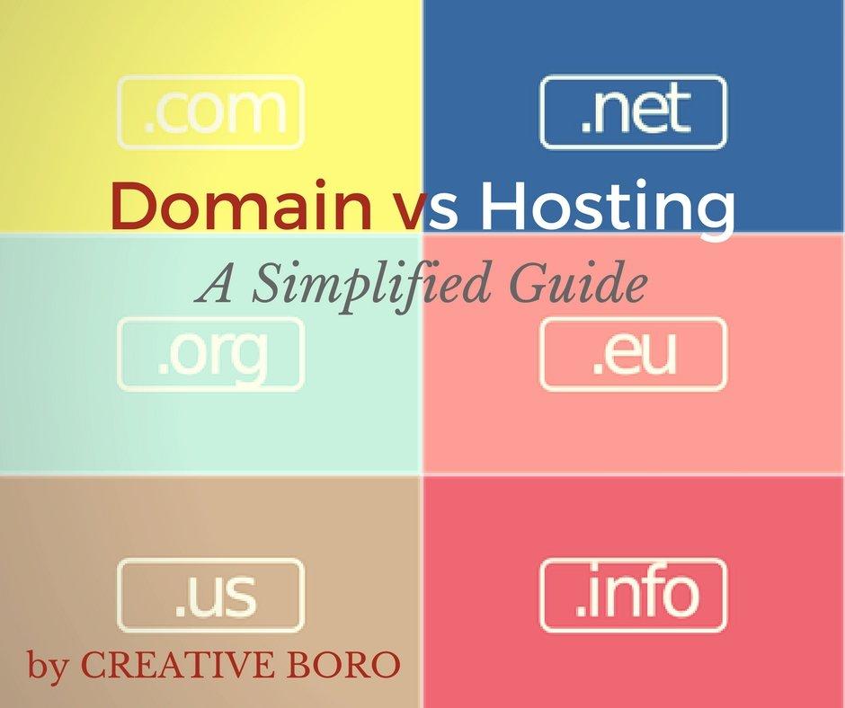 domain vs hosting guide