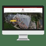 Roofing Renovations Website Design