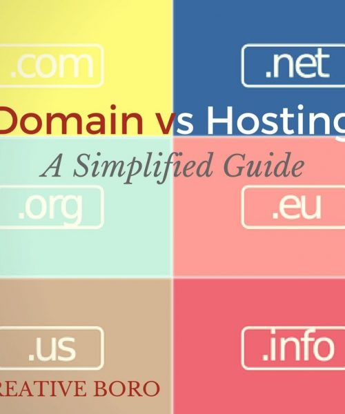 domain vs hosting guide